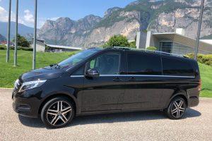 Noleggio minivan Merano servizi Ncc