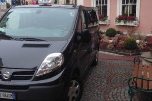 Noleggio minivan con conducente in Trentino